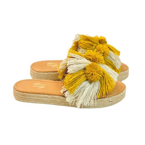 Sandals Silvia Cobos Salsa Yellow- Be Comfy