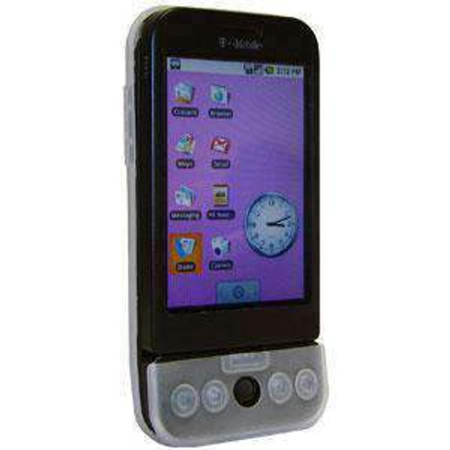 AMZER - Shockproof Silicone Case Cover For HTC Dream - Clear