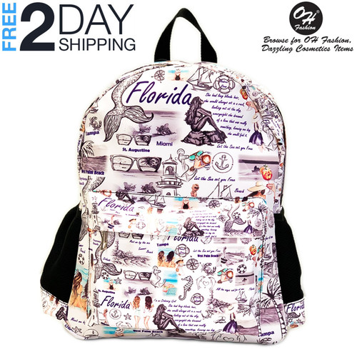 BackPack Travelling Florida Premium PU Leather Strong & Durable