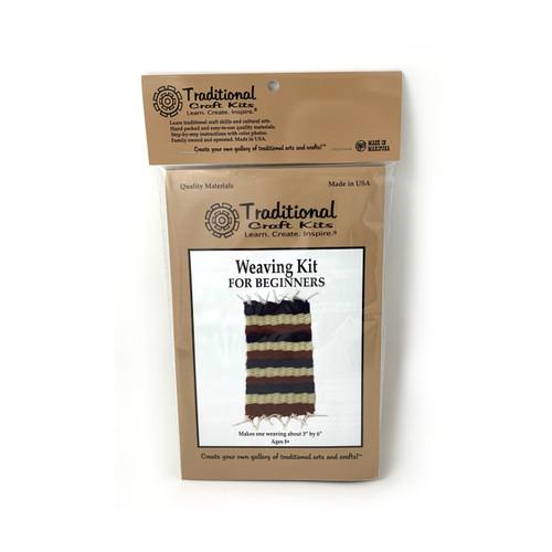 Educational & Eco-Friendly Weaving Kit for Beginners