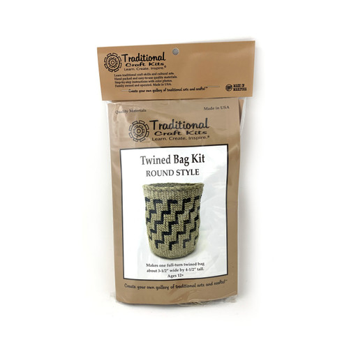 Educational & Eco-Friendly Twined Bag Kit - Round