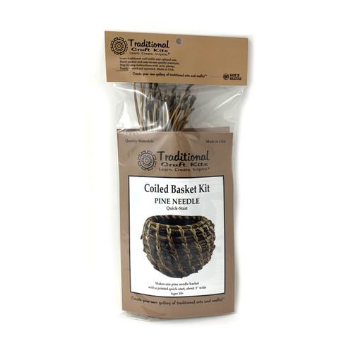 Educational & Eco-Friendly Coiled Basket Kit - Pine Needle Quick Start