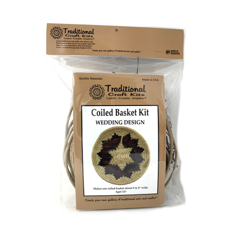 Educational & Eco-Friendly Coiled Basket Kit - Wedding Design
