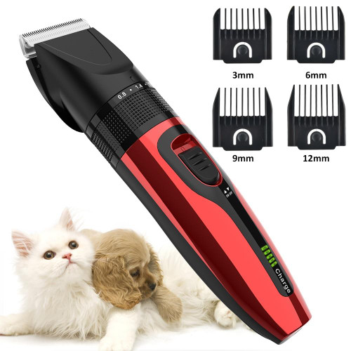 Pet Grooming Clippers Kit With Scissor And Comb