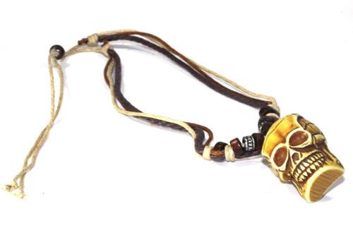 Gorgeous Tribal Skull Boho Style Necklace