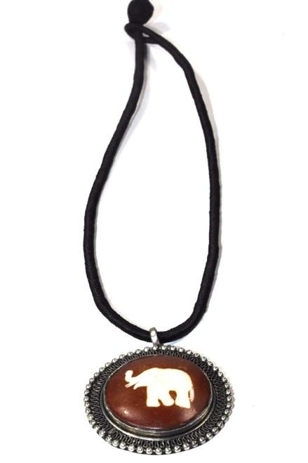 Auspicious Elephant Spiritual Handmade Necklace
