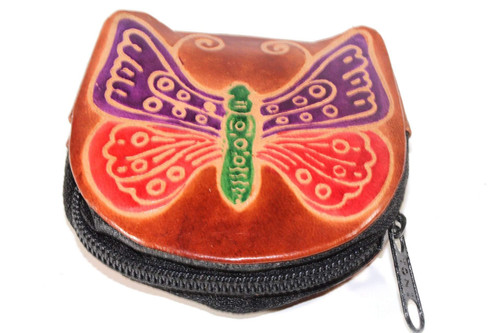 HandmadeButterfly Coin Leather Purses
