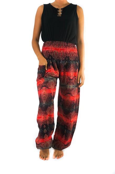 Comfortable & Stylish Harem Hippie Boho Paisley Striped Pants