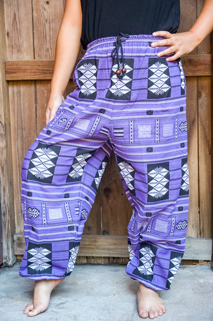 Comfortable Cotton Women Tribal Boho Pants