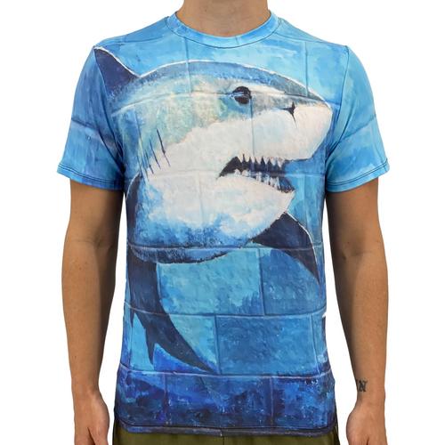 Shark Men's Eye-Catching T-Shirt
