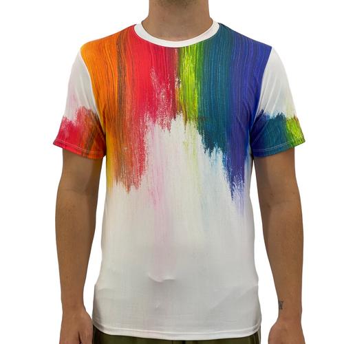 Paint Swipe Men's Soft Cotton T-shirt