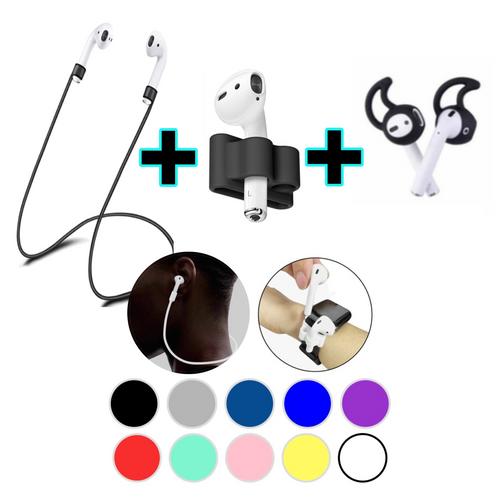 AirPods 1 & 2 Accessories 3 in 1 Anti Lost Gear