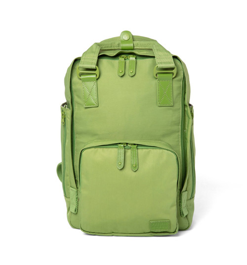 "Cama (M) Asparagus Backpack 13"" laptop 2 Side Pockets"