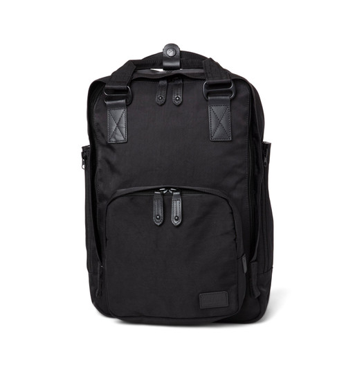 "Cama (M) Black Backpack Water Repellent 13+"" Laptop 4 Internal Pockets"