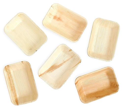 Karmic Seed's Areca Palm Leaf Plates (25/50/100 plates)