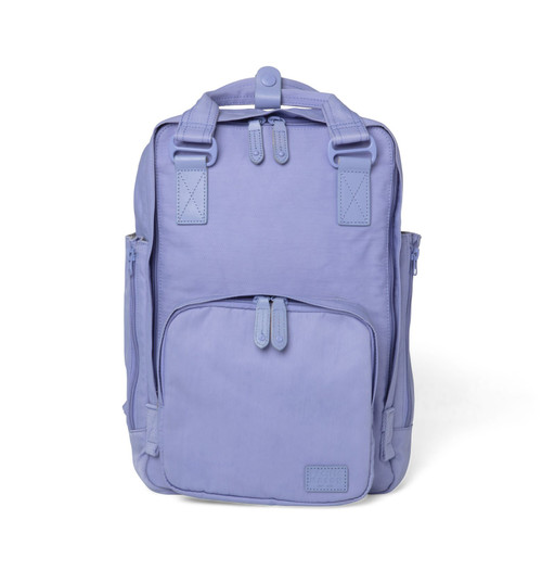 "Cama (M) Lavender Water Repellent Padded Sleeve 13+"" Laptop Backpack"