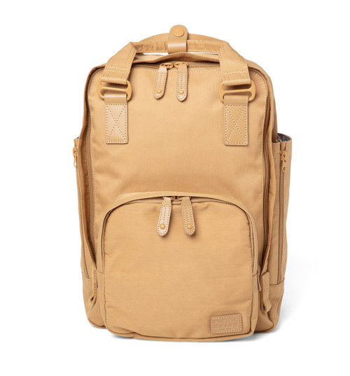 "Cama (M) Caramel Backpack 13+"" Laptop with 4 Internal Pockets"