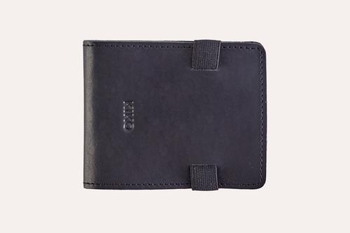 Cash Fold Internal & External Card Slot With Elastic Closure