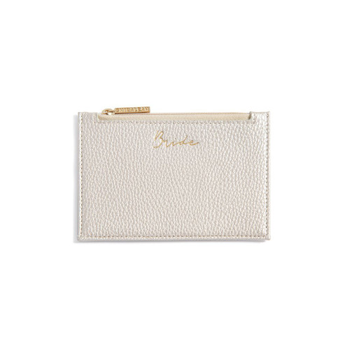 BRIDE CARD CASE PEARL WALLET OUTER CREDIT CARD SLOT