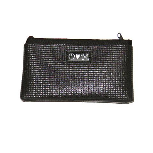Black Clutch Purse Yoga Mat Wallet Clutch