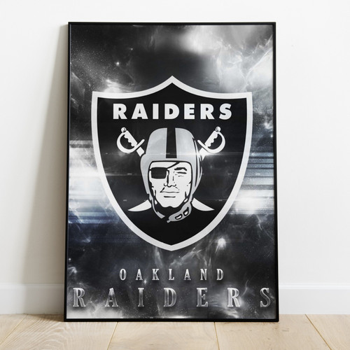 OAKLAND RAIDERS-Printed Poster W/ Latest Technology & High Quality Ink