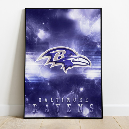 BALTIMORE RAVENS - Printed Poster With Latest Technology