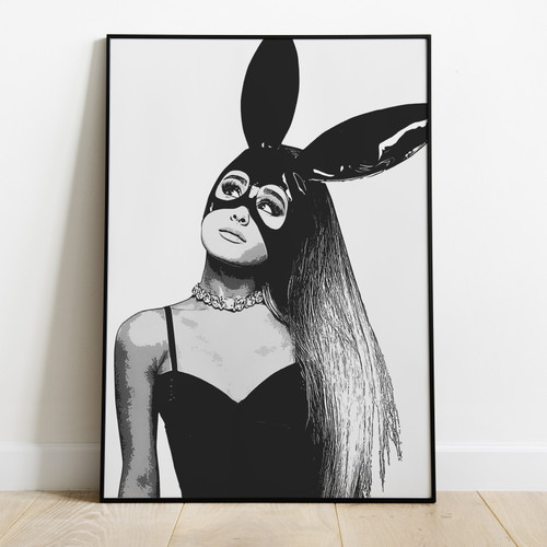 ARIANA GRANDE - Printed Poster Latest Technology & High Quality Ink