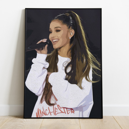 ARIANA GRANDE-Printed Poster Wiyh Latest Technology & High Quality Ink