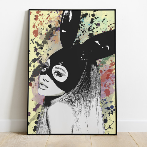 ARIANA GRANDE-Printed Poster With Latest Technology & High Quality Ink