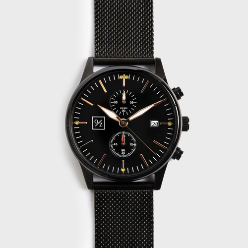 Men's Stylish Steel Mesh-Belt Watch