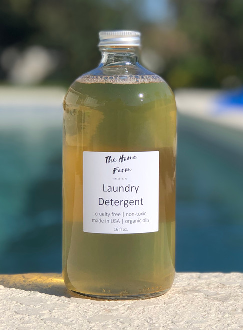 Safe and Mild Organic Laundry Detergent