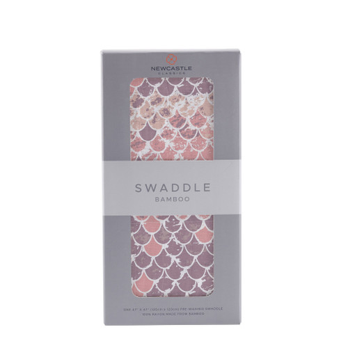 Scales Swaddle Silk & Breathable 100% Natural Bamboo Muslin