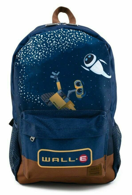 Loungefly Wall-E and Eve Galaxy Nylon Backpack