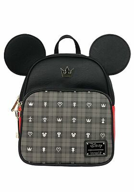 Loungefly Mickey Mouse Kingdom Hearts Mini Backpack Standard