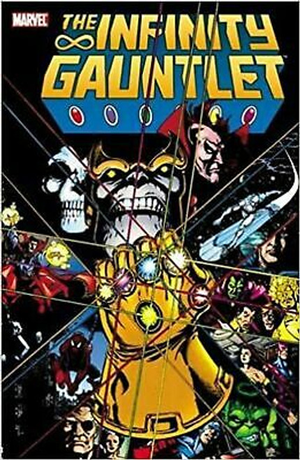 Infinity Gauntlet [Paperback] Jim Starlin; George Perez and Ron Lim Awesome comic