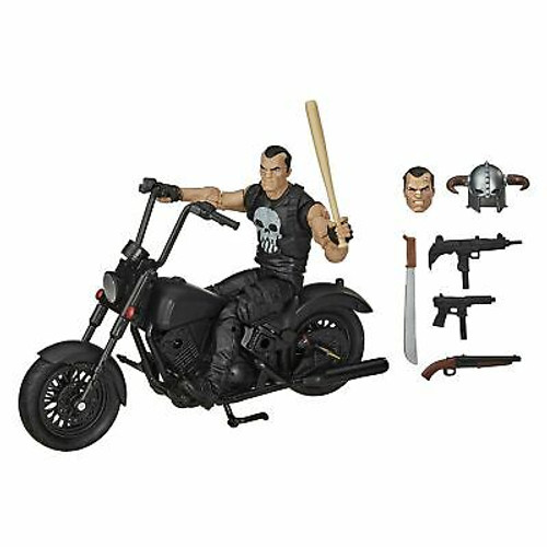 Hasbro Marvel Legends Series 6-inch Collectible Action Figure The Punisher To...