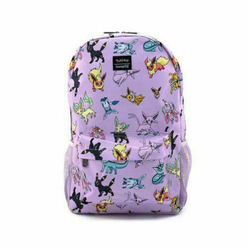 Loungefly Pokemon Eevee Evolutions Nylon Backpack