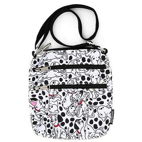 Loungefly Disney 101 Dalmatians AOP Nylon Passport Bag