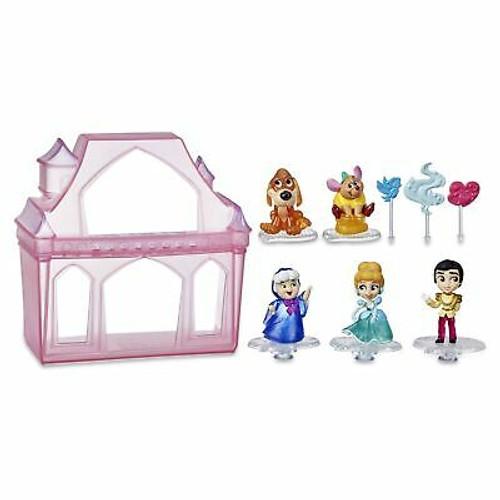 Disney Princess Comics Surprise Adventures Cinderella with 5 Dolls, Accessori...