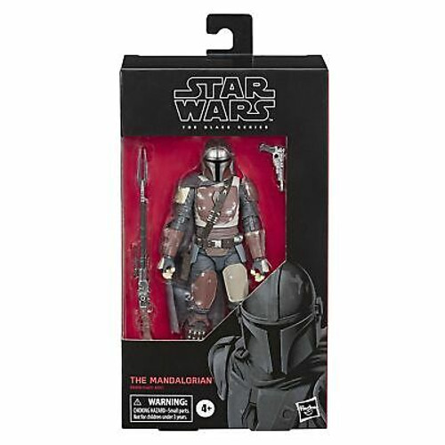 "Star Wars The Black Series The Mandalorian Toy 6"" Scale Collectible Action Fi..."