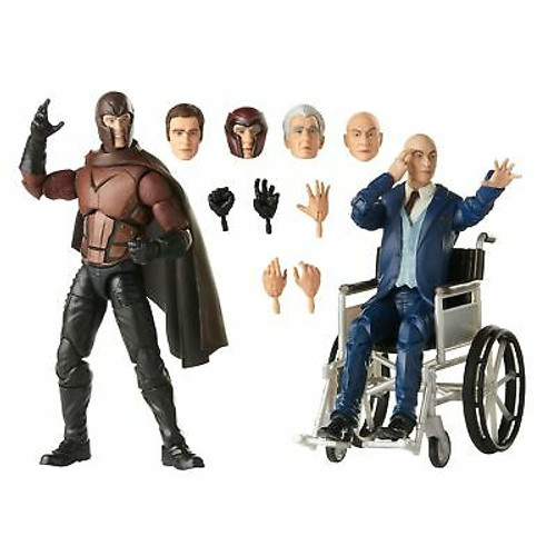 Hasbro Marvel Legends Series X-Men Magneto and Professor X 6-inch Collectible...