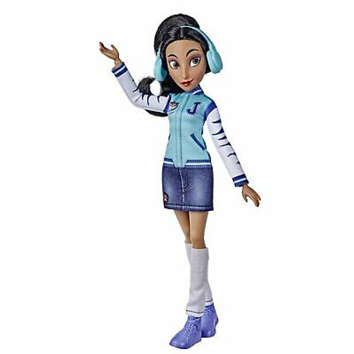 Disney Princess Comfy Squad Jasmine Fashion Doll, Toy Inspired by The Movie R...