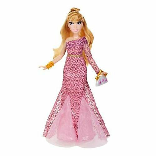Disney Princess Style Series Aurora Fashion Doll, Contemporary Style Dress wi...
