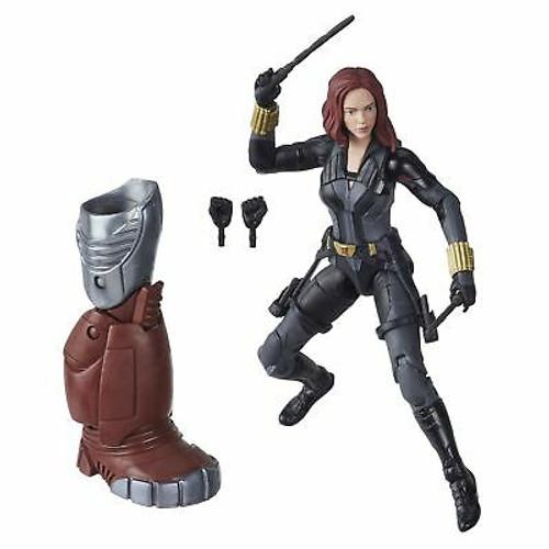 Marvel Hasbro Black Widow Legends Series 6-inch Collectible Black Widow Actio...