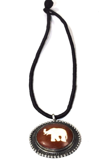 16 inches Auspicious Elephant Spiritual Necklace