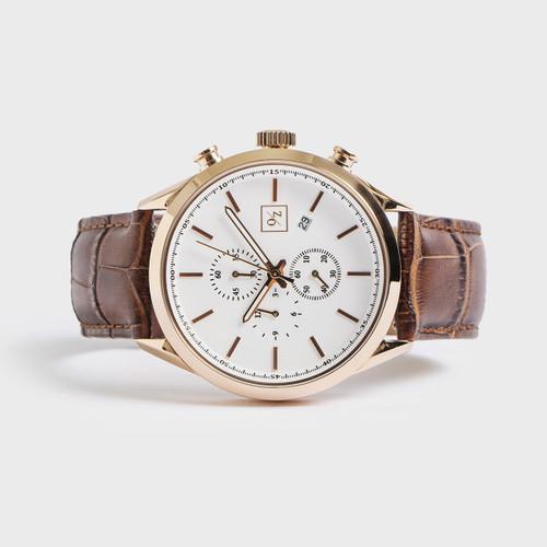 Men's 42mm Diameter Luxury Chronograph Watch