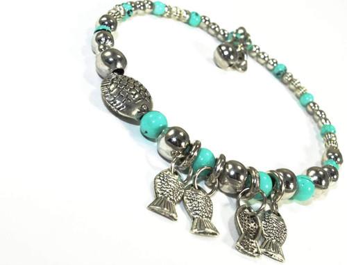 Blowfish & Buddies Charm Adjustable Bracelet