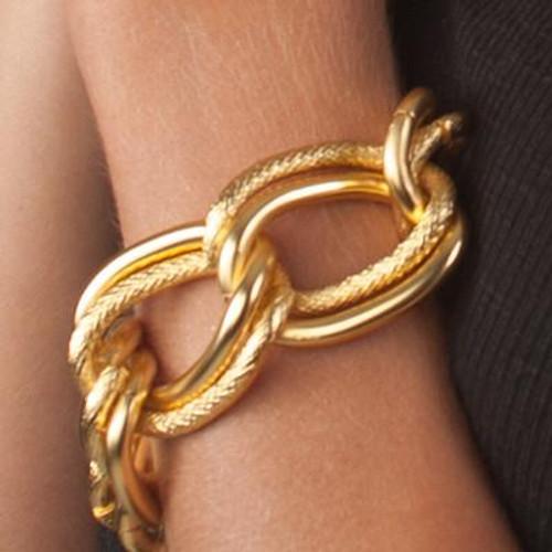 "6.5"" length Emma Double Link Bracelet"