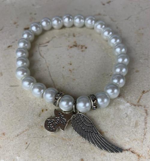 White High Quality Unisex Custom Hand Bracelet