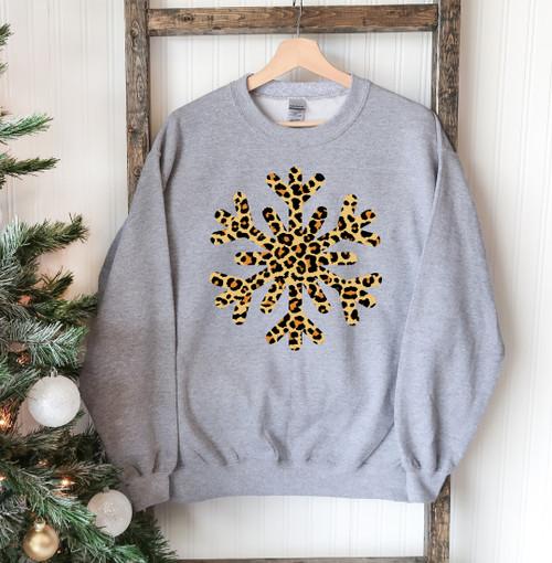 Men's Comfortable & Stylish Snowflake Sweatshirt